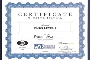 EMDR I.Düzey Eğitimi (Psk. Eva Zimmerman)