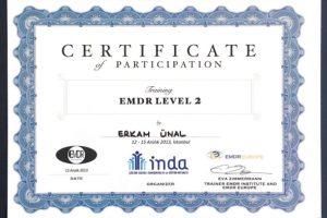 EMDR II.Düzey Eğitimi (Psk. Eva Zimmerman)